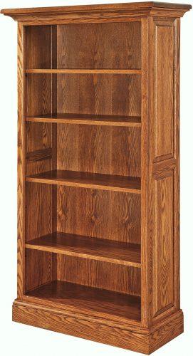 Amish Kincade 65 Inch Bookcase