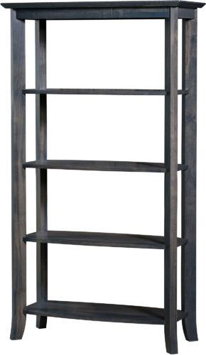 Amish Laurel Open Bookcase
