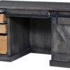 Amish Durango Kneehole Desk Open Detail