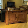 Amish Colebrook Living Room Closed Sofa Table