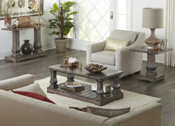 Custom Imperial Living Room Setting