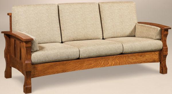 Amish Balboa Slatted Sofa