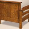 Amish Barrington Chair Rear View