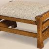Amish Barrington Footstool