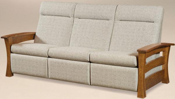 Amish Barrington Reclining Sofa