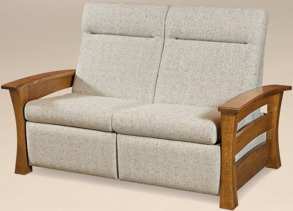 Amish Barrington Loveseat Recliner