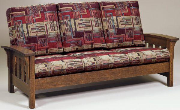 Amish Bow Arm Sofa
