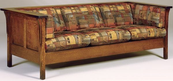 Amish Cubic Paneled Sofa