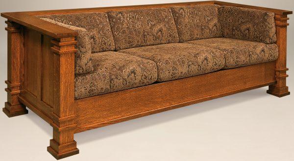 Amish Diamond Sofa