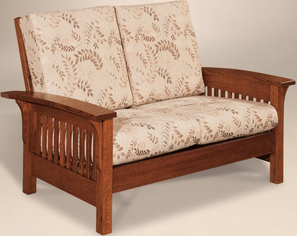 Amish Empire Loveseat