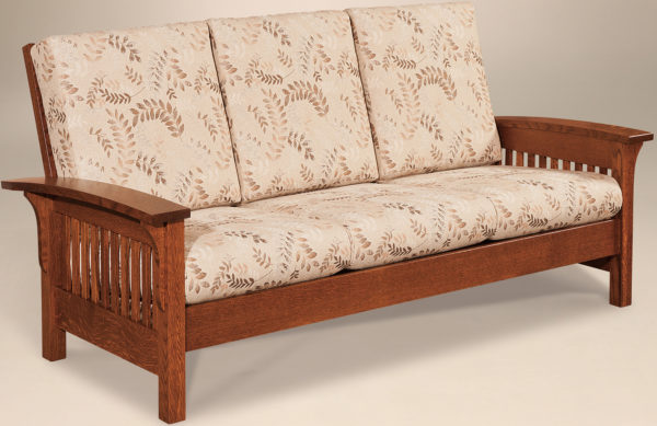 Amish Empire Slatted Sofa