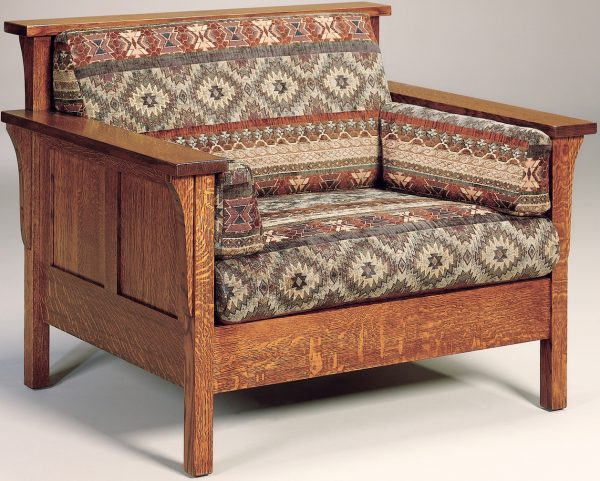Amish Highback Paneled Chair