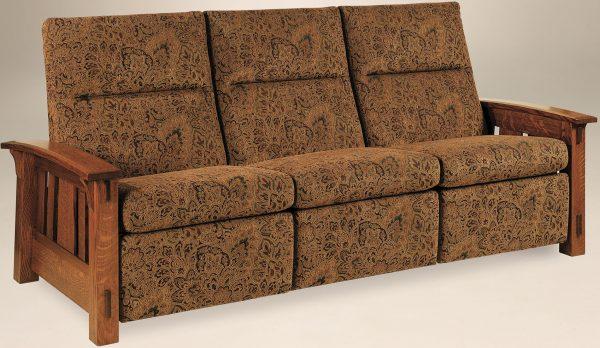 Amish McCoy Recliner Sofa
