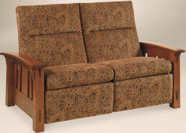 Amish McCoy Recliner Loveseat