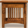 Amish Cubic End Table Side Detail