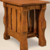 Amish Balboa Narrow End Table