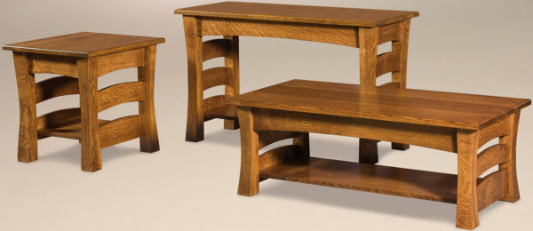 Amish Barrington Occasional Table Set