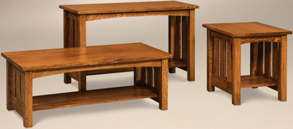 Amish Elite Occasional Table Set