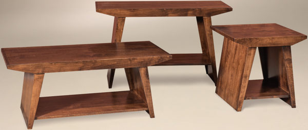 Amish Joleze Occasional Table Set