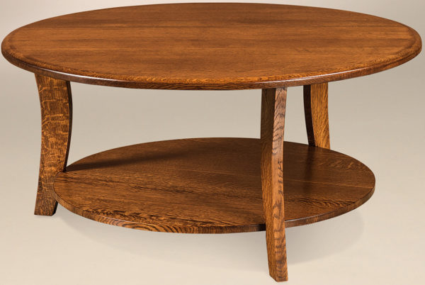 Amish Laurie Round Coffee Table