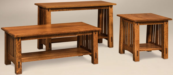 Amish McCoy Occasional Table Set