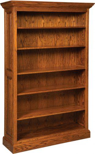 Amish Honeybell Extra Large Five Shelf Bookcase