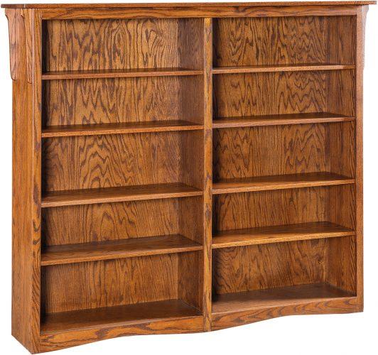 Amish Economy Wide Bookcase