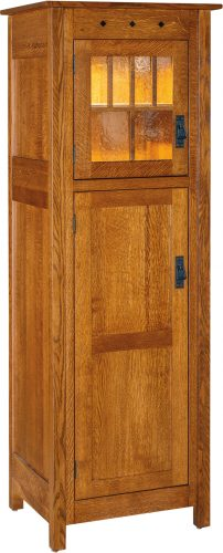 Amish Dynasty Mission Two Door Pantry