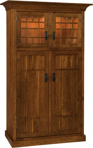 Amish Norwest Mission Four Door Pantry