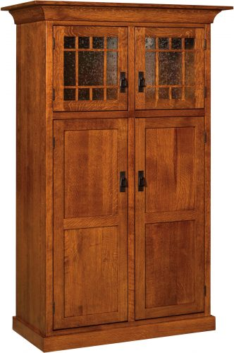 Amish Norway Mission Four Door Pantry