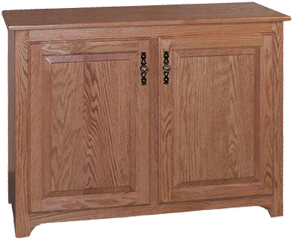Amish Traditional 2 Door Small Pie Safe