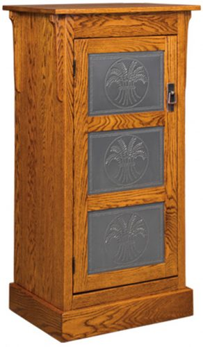 Amish Express Mission One Door Jelly Cupboard