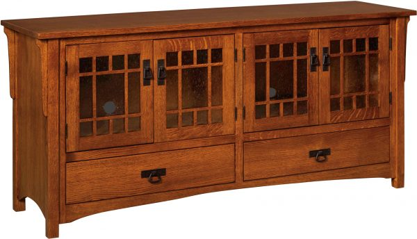 Amish Midway Mission Extra Large TV Cabinet
