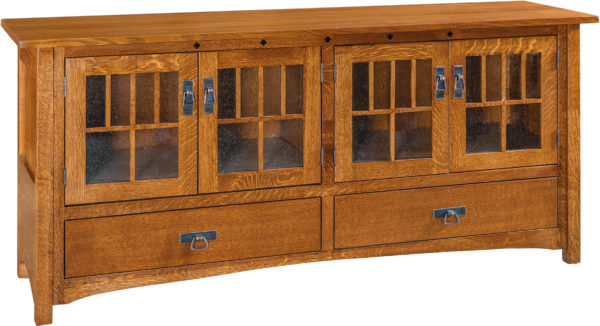 Amish Dynasty Mission TV Cabinet