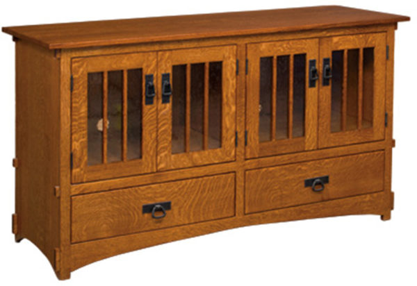Amish Display Mission TV Cabinet
