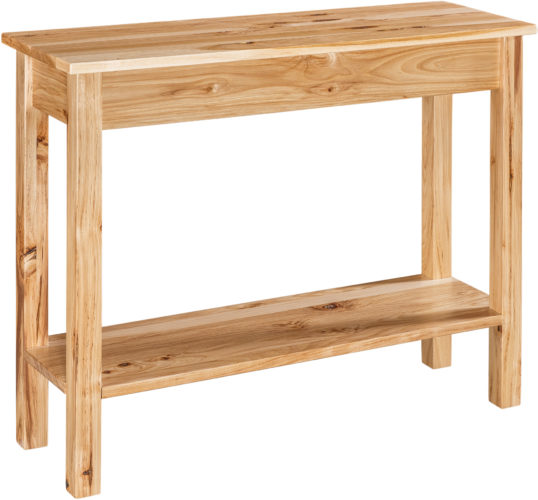 Amish Carsey Open Sofa Table