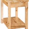 Amish Wide Carsey End Table