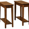 Amish Narrow Carriage End Tables
