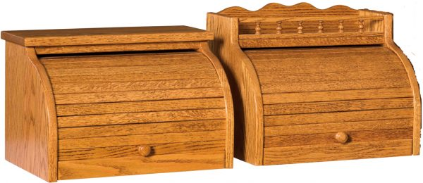 Amish Roll Top Bread Box