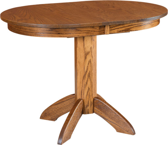 Amish Advance Single Pedestal Dining Table