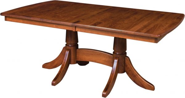 Amish Baytown Double Pedestal Dining Table