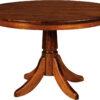 Amish Baytown Single Pedestal Dining Table