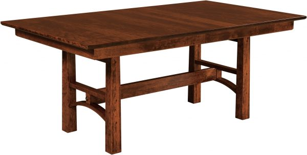 Amish Bridgeport Trestle Dining Table