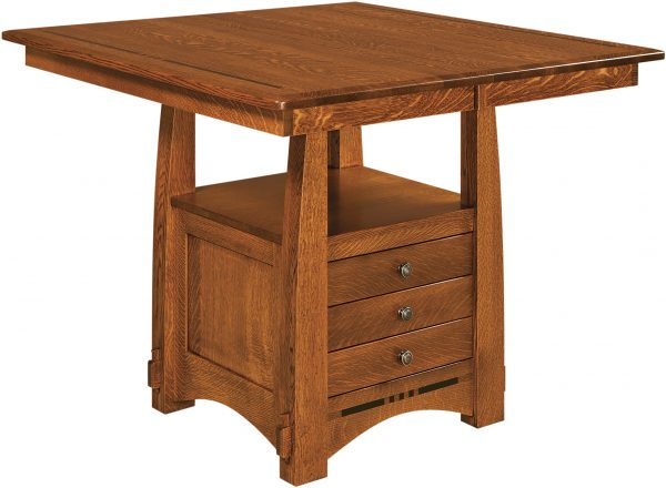Amish Colebrook Cabinet Base Table