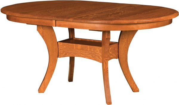 Amish Imperial Double Oval Dining Table