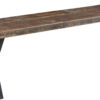Amish Laredo Rough Sawn Dining Bench