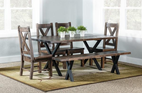 Amish Laredo Trestle Dining Room Set