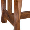 Amish Lexington Trestle Dining Table Detail