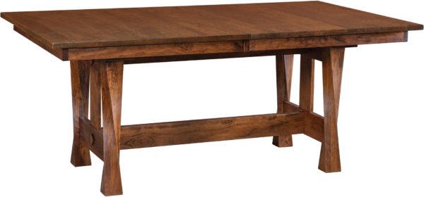 Amish Lexington Trestle Dining Table