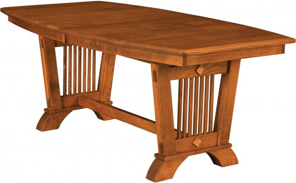 Amish Liberty Trestle Dining Table
